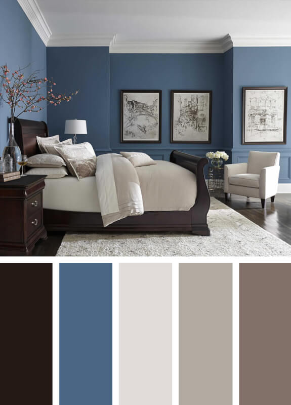 bedroom color schemes aqua