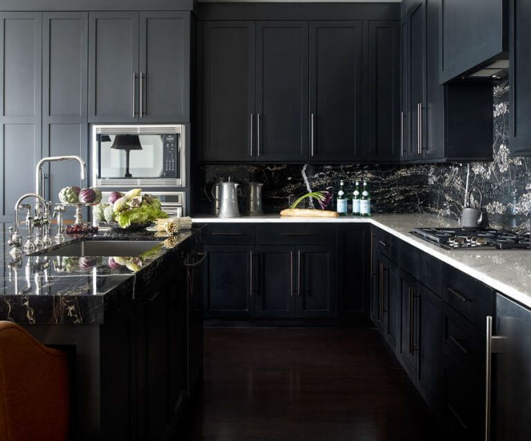 14 Kitchen Ideas With Black Kitchen Cabinets Reverb Sf