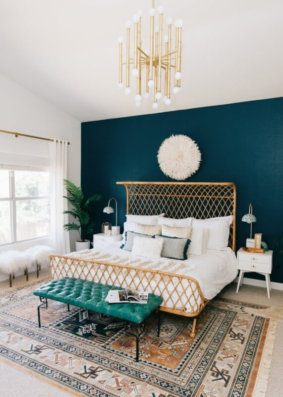 bedroom color schemes 2018