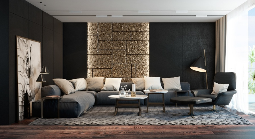 contemporary living room accent chairs