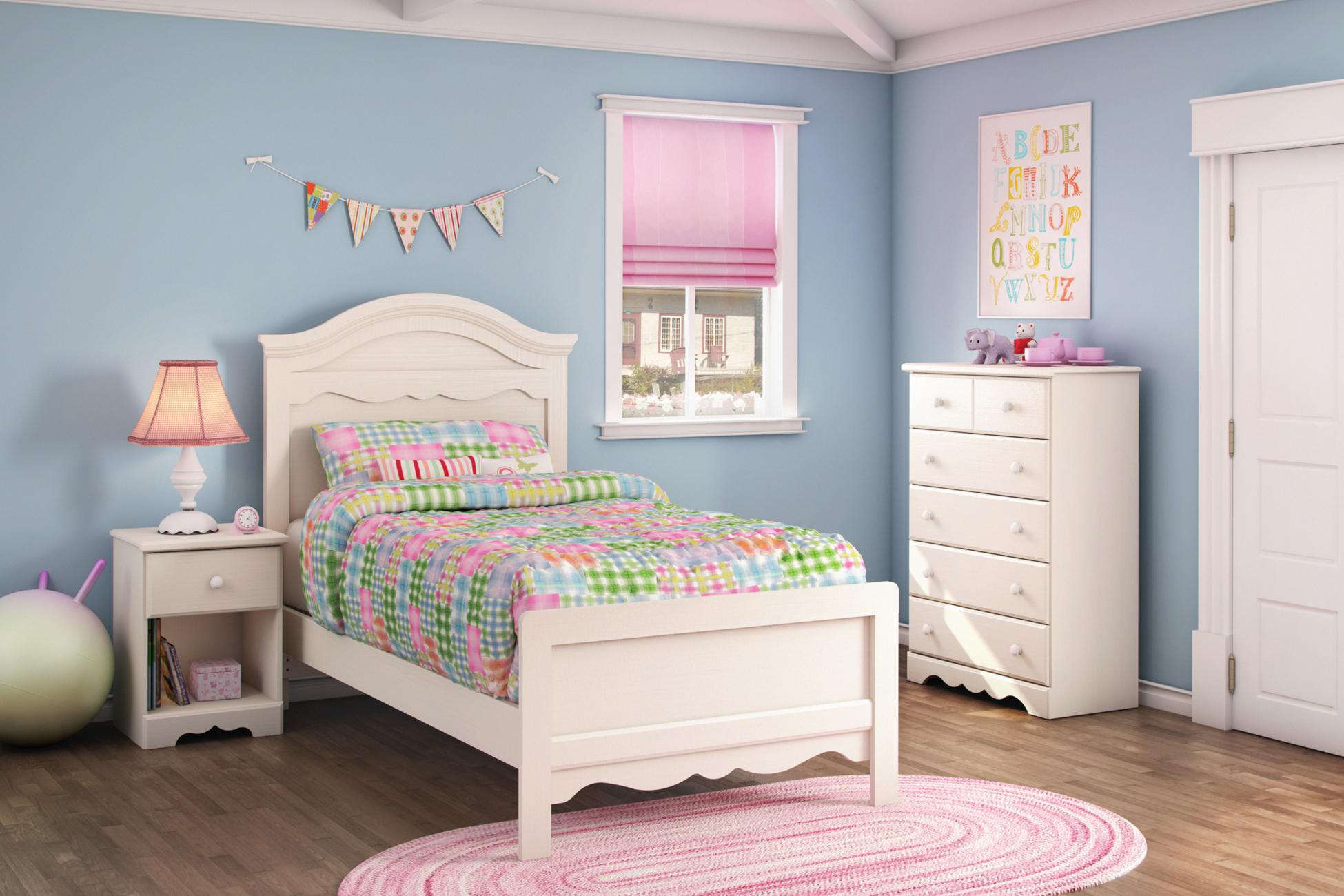 white bedroom furniture for girl