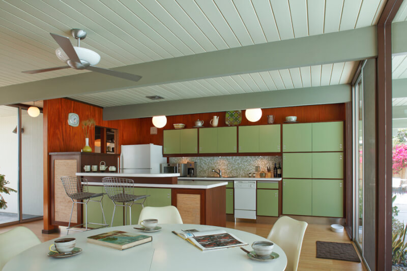 mid century modern kitchen furniture