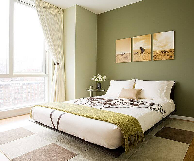 15 Green Bedroom Ideas That Are Completely Out Of The Box Reverb