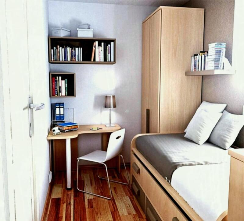 Compact Office and Bedroom