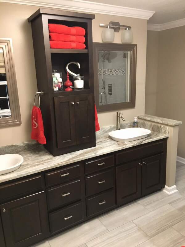 farmhouse style bathroom mirrors
