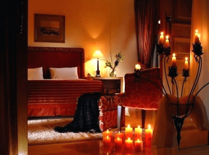 romantic bedroom colors