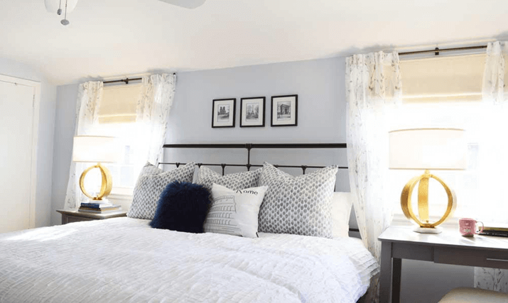 Choose relaxing bedroom colors