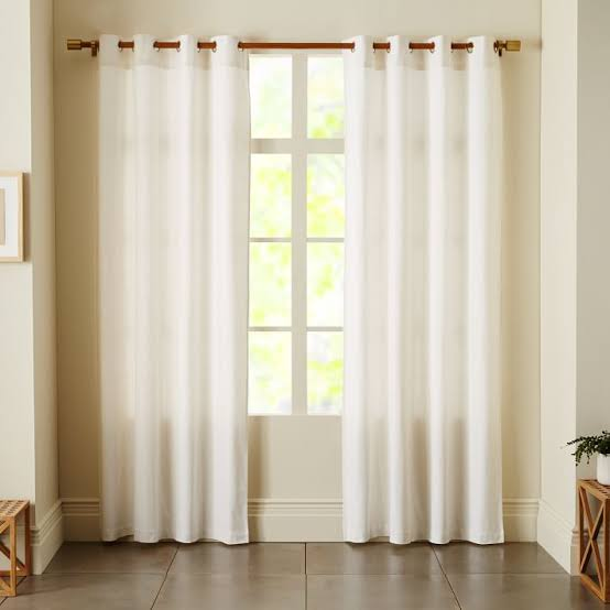 white kitchen curtain ideas