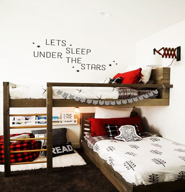 Modern and Efficient Bedroom